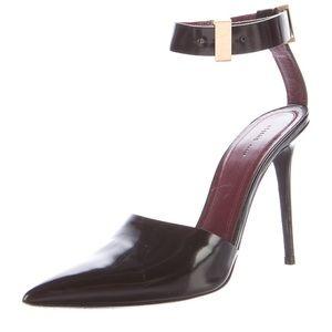 Celine Ankle Strap D'orsay Black pump