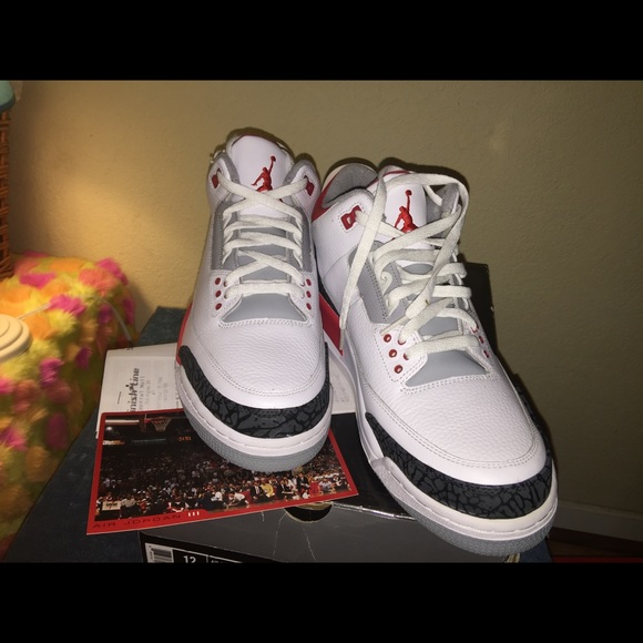outlet store 54df0 5c217 Air Jordan Other - Air Jordan 3 Retro Men s Size 12