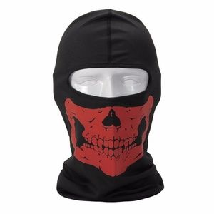 Accessories - Half Skull Face Tube Mask