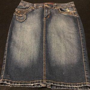 Baby Phat Skirts - Vintage Baby Phat denim stretch skirt