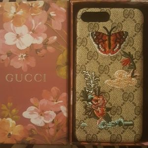 Accessories - BUTTERFLY EMBROIDERED IPHONE 7PLUS CASE