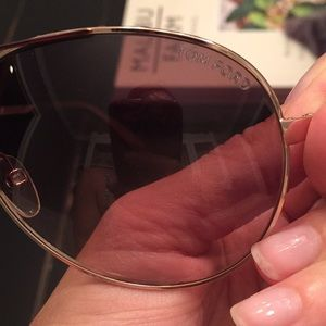 9664a65b3071 Tom Ford Accessories - Tom Ford Charles Round Aviator sunglasses