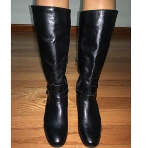 Joe Fresh real leather boots