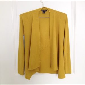 Sweaters - Asymmetrical Chartreuse Sweater