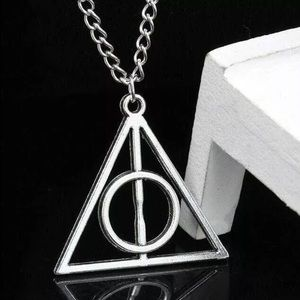 Jewelry - Silver Deathly Hallows Harry Potter Necklace