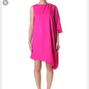 Ted Baker Aubreey Asymmetrical Dress Sz 1 0-2