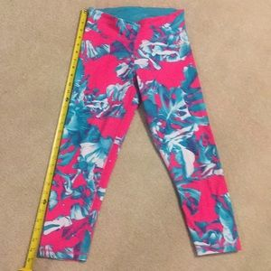 Adidas Climalite Tropical Cropped Athletic Legging