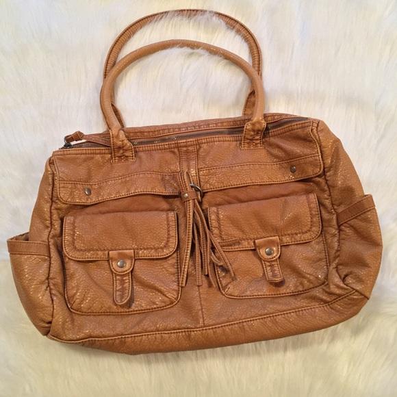 0ea0e4b0b100ab Converse Handbags - Converse One Star Brown Shoulder Bag