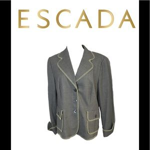 Escada Black Label Blazer. Sz 44