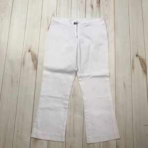 Tory Burch White Crops
