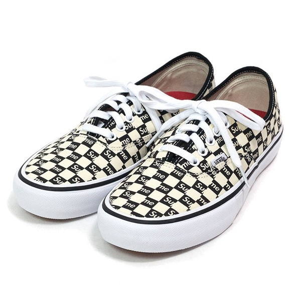 b51e80fb47435d Supreme Vans Authentic Checkered