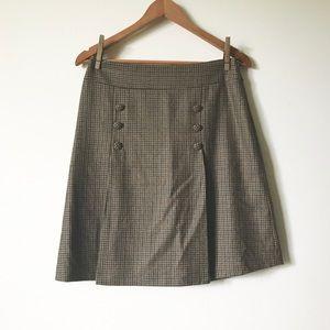 J. McLaughlin wool skirt