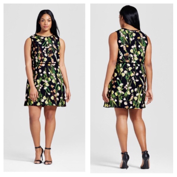 Victoria Beckham for target NWT plus size dress 2X NWT