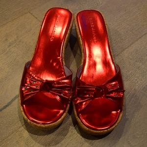 Vintage Marc Jacobs Red Leather Sandals