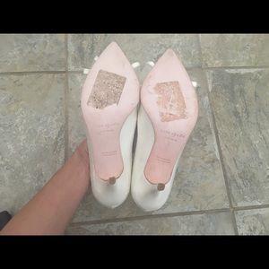 c8798daf82dd kate spade Shoes - Kate Spade Jackie Heels Ivory - Size 6