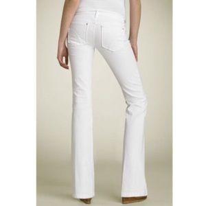 Joe's white boot cut jeans size 25