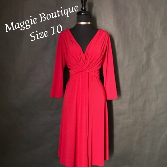 Maggie Boutique Dresses & Skirts - Maggie Boutique Red Dress, Size 10