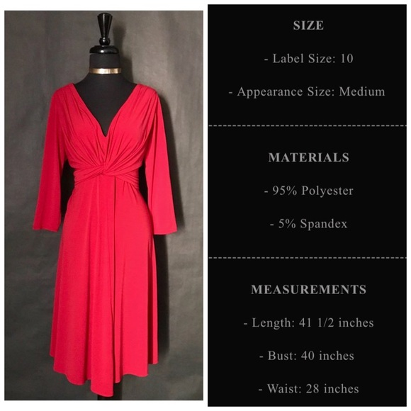 Maggie Boutique Dresses - Maggie Boutique Red Dress, Size 10