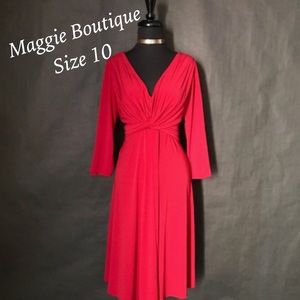 Maggie Boutique Dresses - Maggie Boutique Red Dress, Size 10