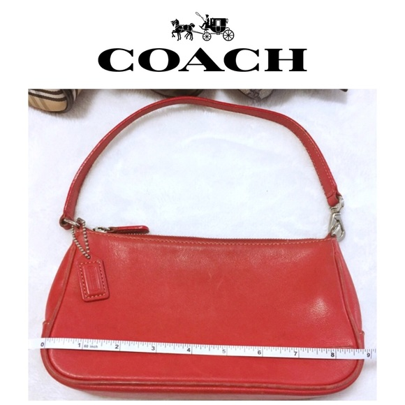 Coach Handbags - COACH Hampton Bag in red leather