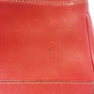 Coach Bags - COACH Hampton Bag in red leather