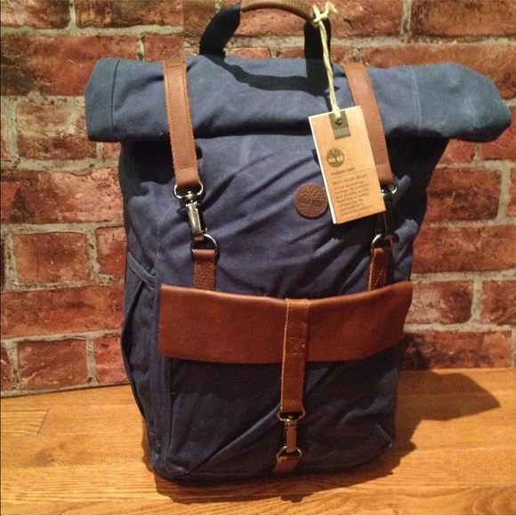 Timberland Walnut Hill 24L Waxed Canvas backpack