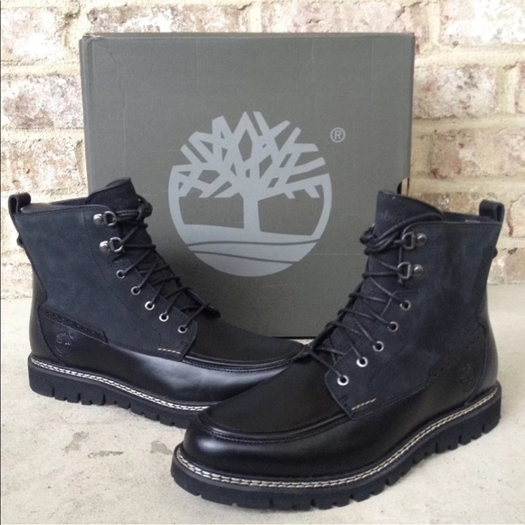 Timberland Men's Britton Hill Moc Waterproof Boots NWT