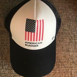 oiselle Other - Oiselle American Runner Trucker hat 5568a24cfa5