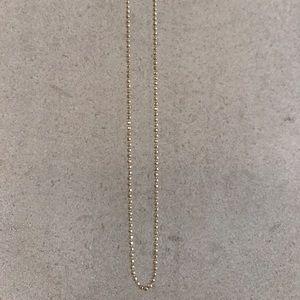 Jewelry - Diamonds Cut Ball Chain