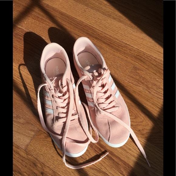 Adidas Neo Courtset Sneaker Blush On Trend