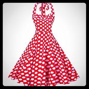 Pin Up Vintage Dress