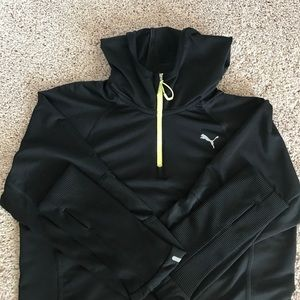 PUMA Running Pullover Hoodie/ Track Jacket