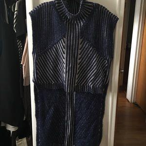 Reversible BCBGMAXAZRIA sleeveless sweater