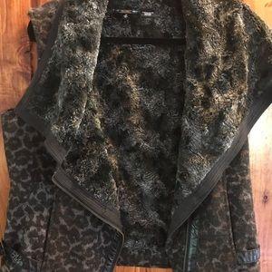 Miss Me Leopard print vest