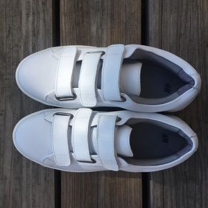 VELCRO WHITE SHOES (MENS) ON HOLD