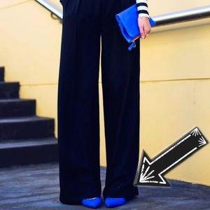 Manolo Blahnik Patent Leather Cobalt Blue Flats