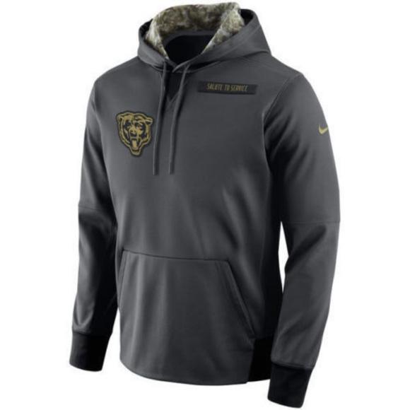 the latest 8362c 91b37 Nike Chicago Bears Salute to Service Sweatshirt NWT
