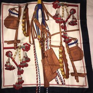 Loewe Andalusian Harnesses Silk Scarf