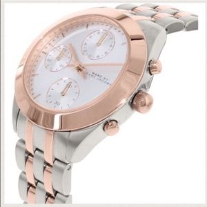 NWT Marc Jacobs Rose Gold Two Tone Watch