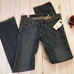 FCUK French Connection Boot CUt Jeans Sz 4 NWT