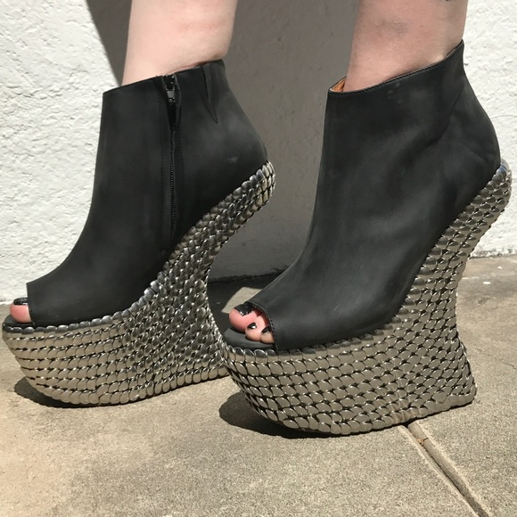 brand new 1a113 959f2 In Box Jeffery Campbell Night Tick Boot