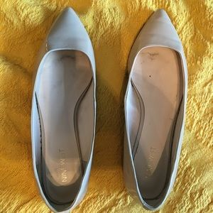 Nine West Nude Pointed Toe Flats