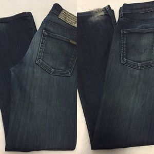 7 For All Mankind Jeans - SOLD - 7FAM 2 Pair High Waist Bootcut Jeans