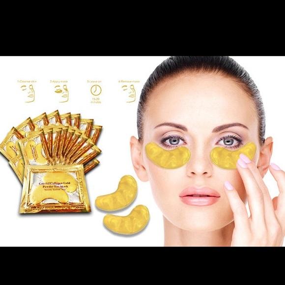 Crystal Collagen Gold Under Eye Mask Makeup 2 Packs Of Collagen