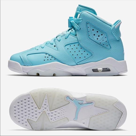online store ff440 1192c Baby Blue Jordan Retro 6s