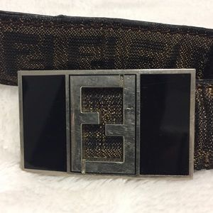Fendi Accessories - FENDI Zucca Vintage Belt Size XL