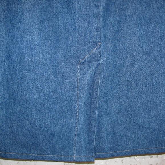 Cherokee Skirts - (3/$23) Cherokee Denim Skirt