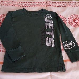 Lon sleeve jets shirt
