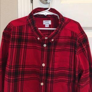 Boys Gymboree fancy dress shirt, size L, 10-12