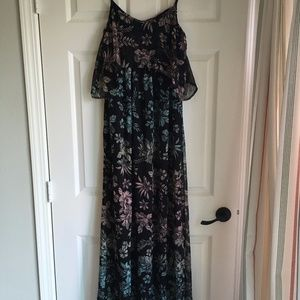 Motherhood Maternity Flounce Maxi Dress